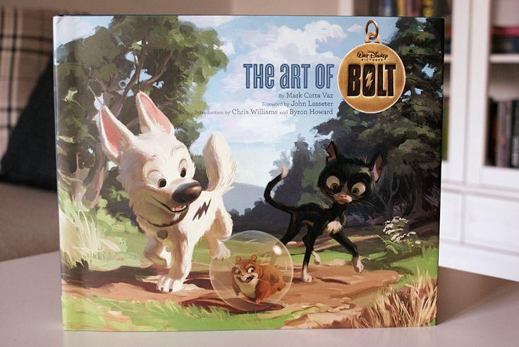 The art of Bolt -kirja | Tää kokemus on ollut opetus, siis matkaa teen - Disnerd dreams