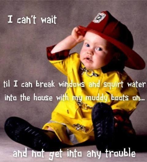 Cute Firefighter Quotes | cute