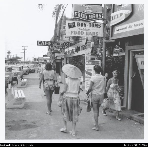 Vintage shots from days gone by! Cavill ave, maybe 1960's