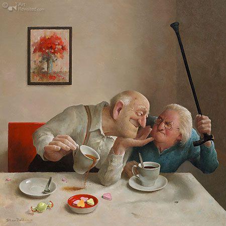 Liefde van één kant | Marius van Dokkum - Art Revisited