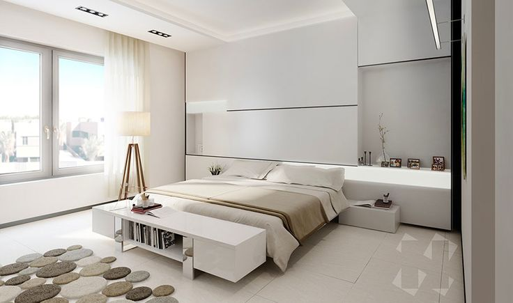 Camera da letto minimal 06