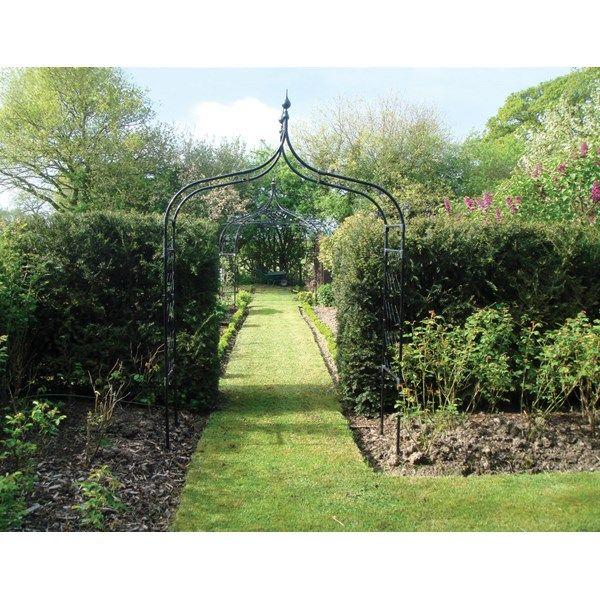 Gothic Garden Arch Steel Ogee Style Garden Arch Garden