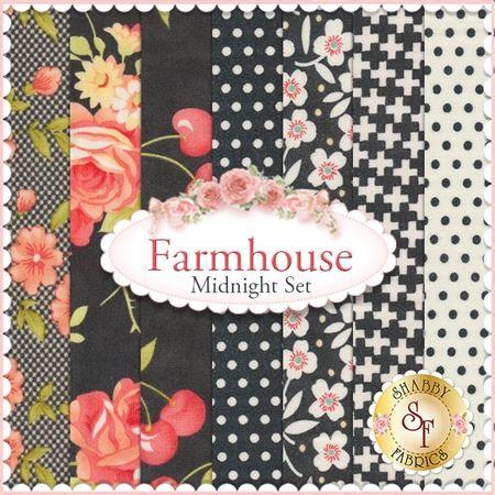 farmhouse fq set midnight set by fig tree quilts for moda fabrics farmhouse