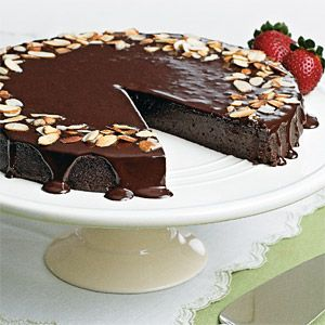 Cuisine at home chocolate cake