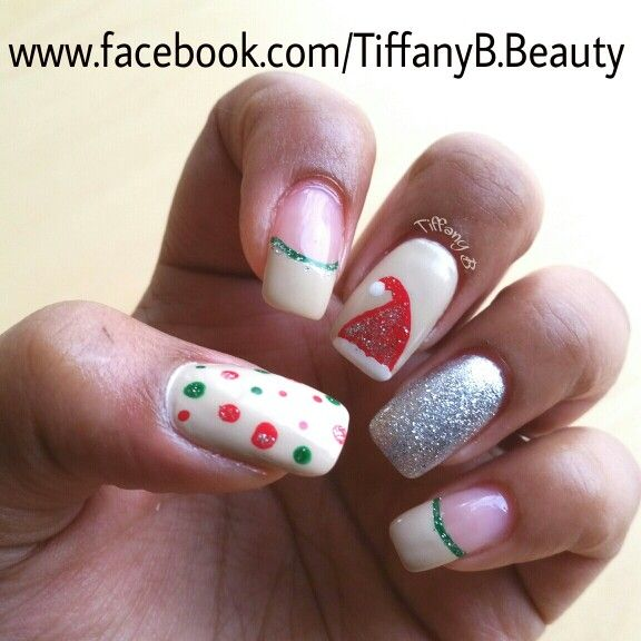 Christmas Nail Art Done By Tiffany Brittany S Beauty Bar Salon