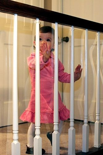 Kid Shield Child Safety Indoor Banister Guard 50 Ft x 33 In