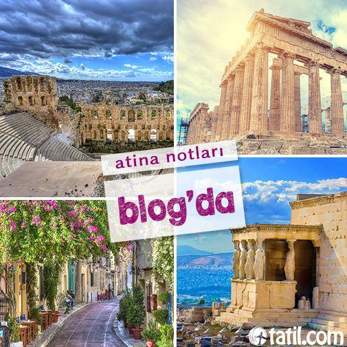 Atina; mitolojik tanrıları, efsaneleri, antik tarihi, müzeleri, mimarisi ile en önemli kültür merkezlerinden biri!  Atina'yı sizin için kaleme aldık. http://blog.tatil.com/atina-notlari/