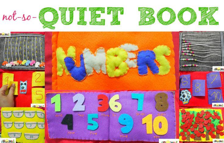#2 not-so-quiet book (NUMBERS) | tobringtogether