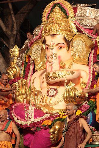 GSB Seva Mandal Ganesha Visarjan Journey 2012