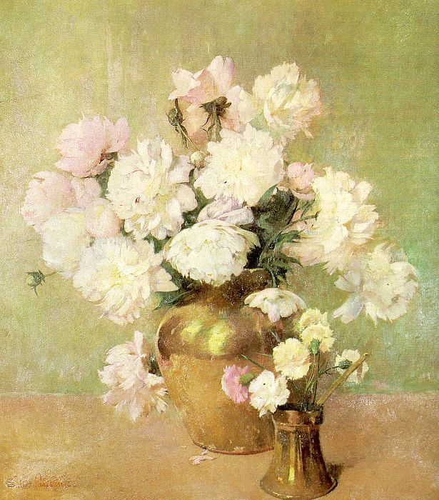 Still Life with Roses and Mandolin - Emil Carlsen - WikiArt.org