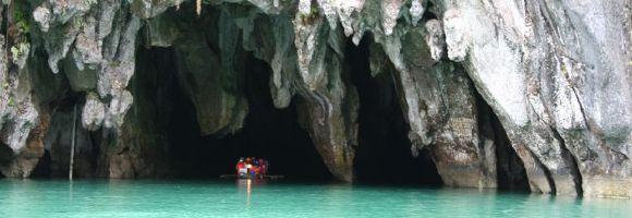 Le parc national de la rivière souterraine de Puerto Princesa, Philippines