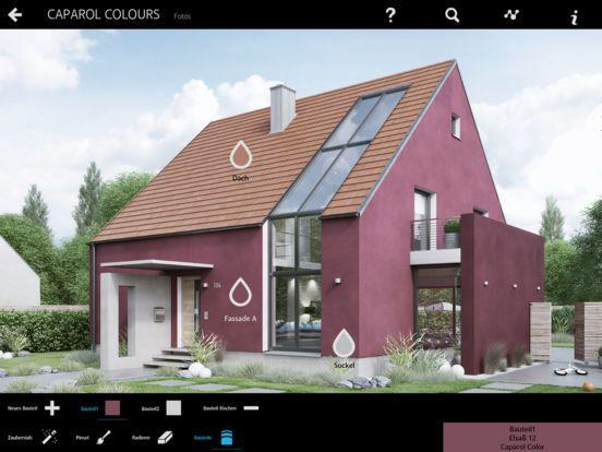 Με την εφαρμογή Caparol Colours , γίνεστε εσείς ο σχεδιαστής. Οι επιφάνειες του σπιτιού χρωματίζονται εικονικά με το χρώμα που θέλετε σε λίγα μόλις βήματα!!