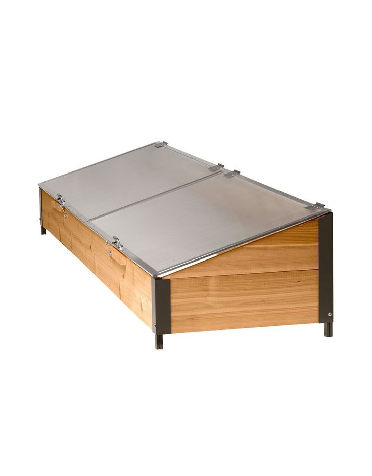 Cold Frame - Cedar and Polycarbonate, 2'x8' | Gardener's Supply