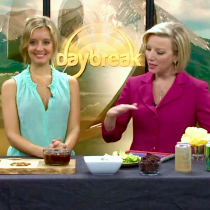 Healthy Julie on Channel 2's Daybreak in Denver CO - Why quality is way more important than quantity when it comes to calories www.healthyjulie.com