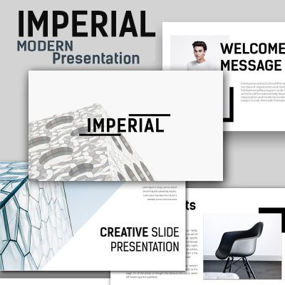 imperial modern keynote template character design pinterest