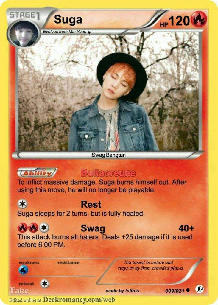 Suga is so much like me I love sleep and naps and fod and dance and I try rapping