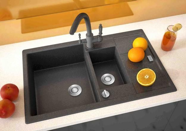 black kitchen sinks for modern kitchens