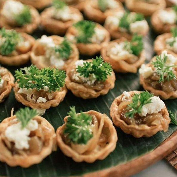 Caramelised Onion Tartlets by Oma Thia's- Yumm!