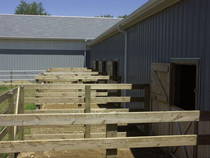 Horse Barns And Stalls