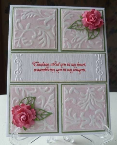 Beautiful! Read how card was made using the Beleek technique.She made this for a seriously ill friend.: Wedding Cards, Beleek Technique, Business Logos, Beautiful Cards, Cards Ideas, Pretty Cards, Cards Embossing, Cards Layout, Cards Cuttlebug Spellbinders