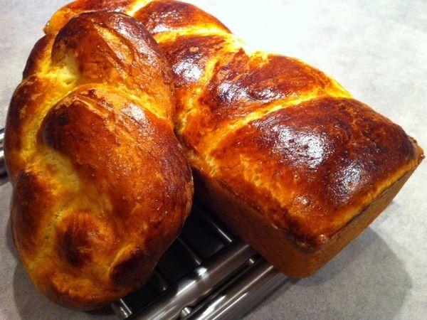 Brioche Sans Gluten avec œufs et lait !!!
