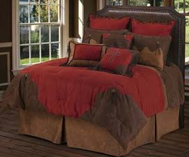 Red Rodeo Western Bedding Set Red Rodeo Western Bedding