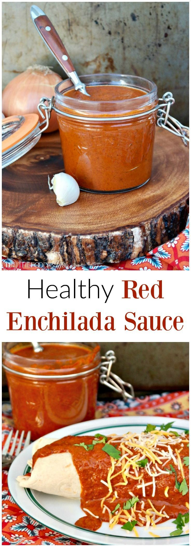 Healthy Red Enchilada Sauce Is The Base For Many Latin Dishes Simple To Make With