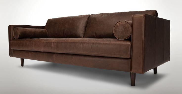 Sven Charme Chocolat Sofa - Sofas - Article   Modern, Mid-Century and Scandinavian Furniture