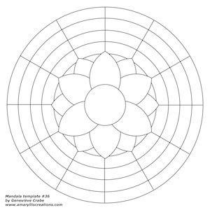 Mandala template 36 | Flickr - Photo Sharing!