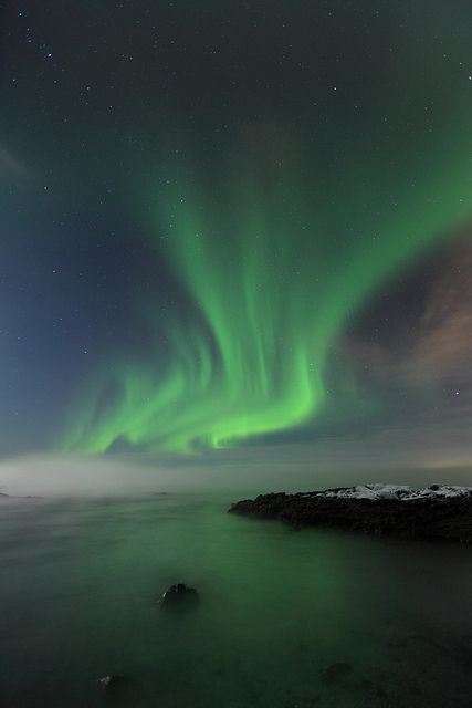 Watch the Aurora Borealis (Northern Lights) & the Aurora Australis (Southern Lights)