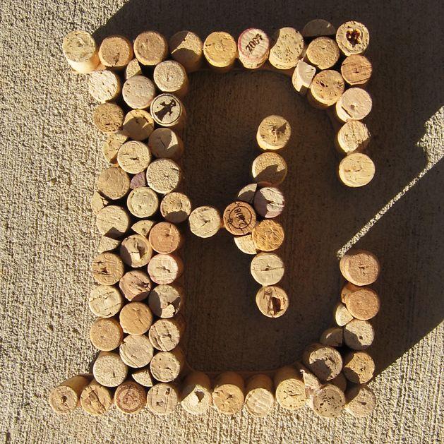 Cork Monograms