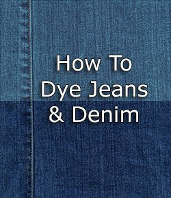 dylon fabric dye instructions
