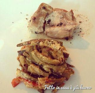"""La Carne con pepe in grani e crumble di verdure di """"Fatto in casa è più buono""""!"""