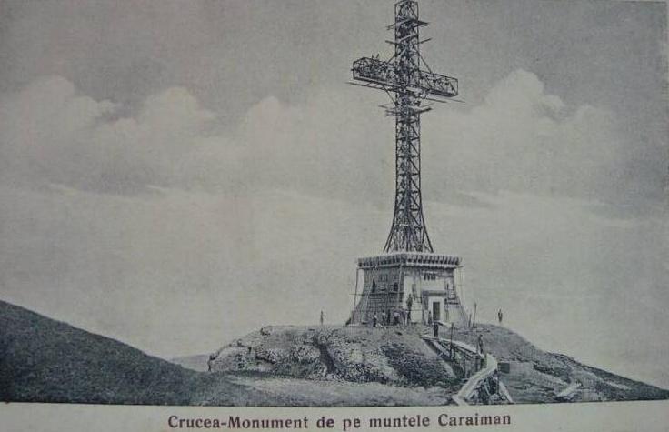 Crucea - CARAIMAN - 1928Romania Vech, Beautiful Romania