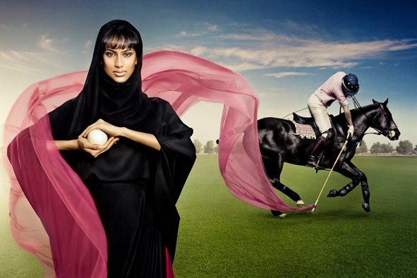 2012, UAE. Event Managent for Pink Polo, which is a sponsored family charity day dedicated to raising awareness about breast cancer in the UAE
