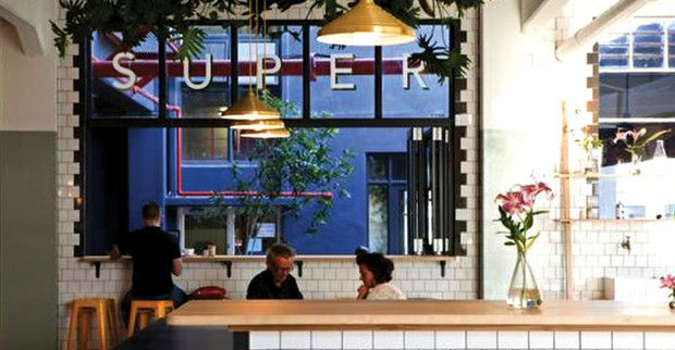 Superette is the meeting place of Woodstock's most exciting office space, The Woodstock Exchange. Constantly abuzz with creative, businessey minds before and during their workday, there is never a lack of awesome energy in this place. http://ilovecoffee.co.za/reviews/superette/