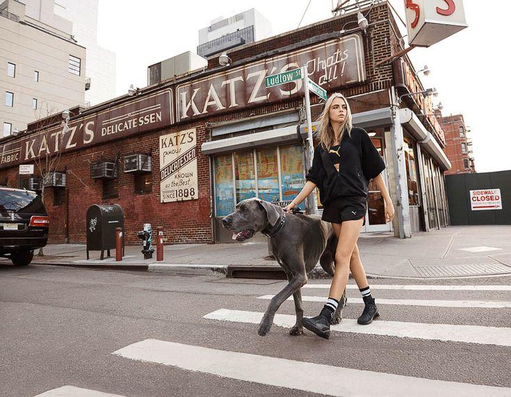 Cara Delevingne Puma Ad Campaign Directed by Rihanna - The Dapifer