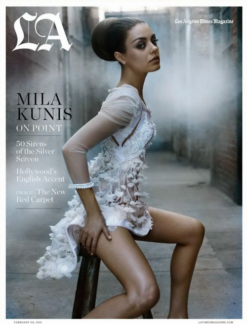 Mila Kunis - all of it - I thank you.