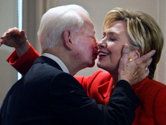 Flashback: Hillary Clinton Praises 'Friend and Mentor' Robert Byrd (a KKK Recruiter)