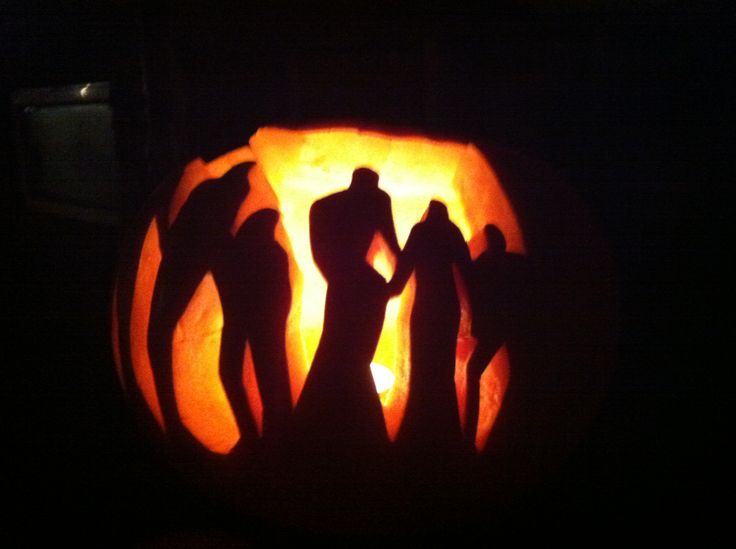 Pumpkin carving for the holidays pinterest pumpkins for Pumpkin carving silhouettes