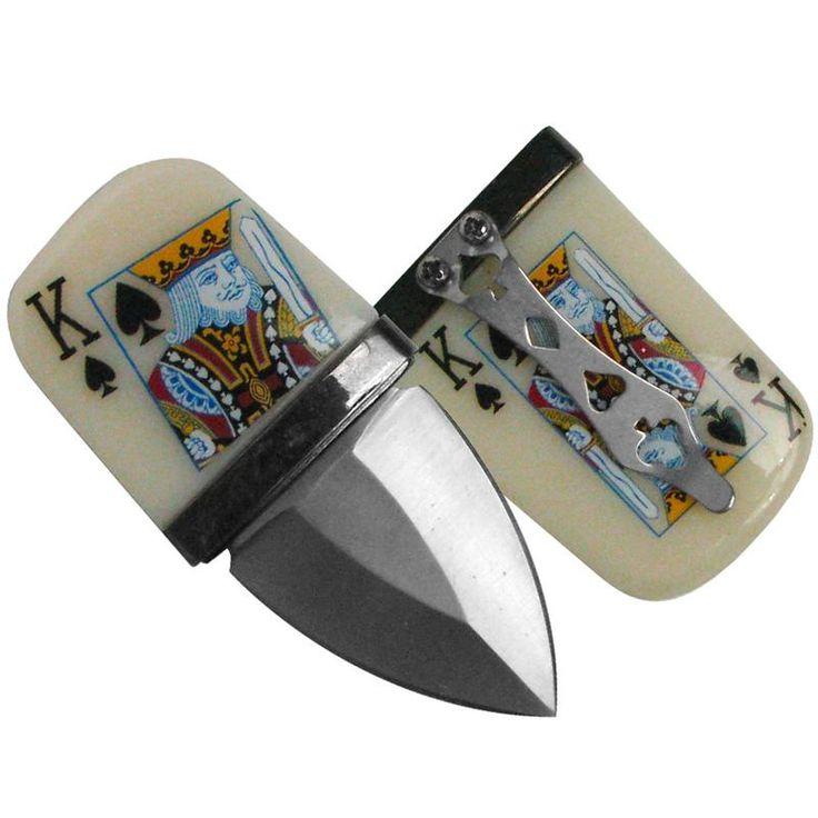 Push Dagger Texas Holdem Poker Push Dagger Knife Set Of