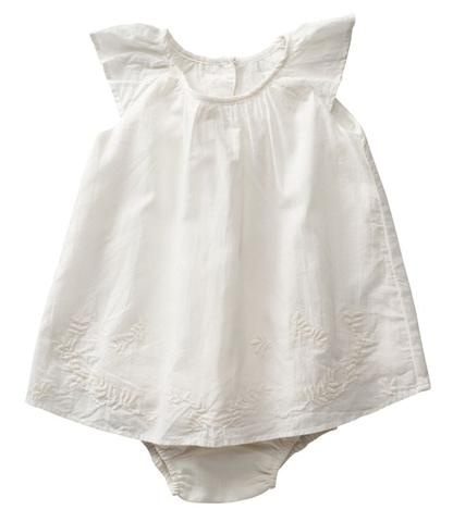 voile dress with bloomers #babyfashion #ss13 #purebaby