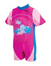 Zoggs Miss Zoggy Swim Free Floatsuit - Pink The Miss Zoggy Swim Free Floatsuit is a fantastic inflatable swimsuit for toddlers and enables young children to have buoyancy in the water without using armbands or swim rings http://www.MightGet.com/january-2017-13/zoggs-miss-zoggy-swim-free-floatsuit--pink.asp