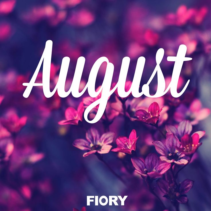 Hello August! – booksthatmakeme  |August