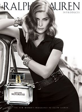 "Ralph Lauren ""Notorious"". Ad is much better than the scent itself."