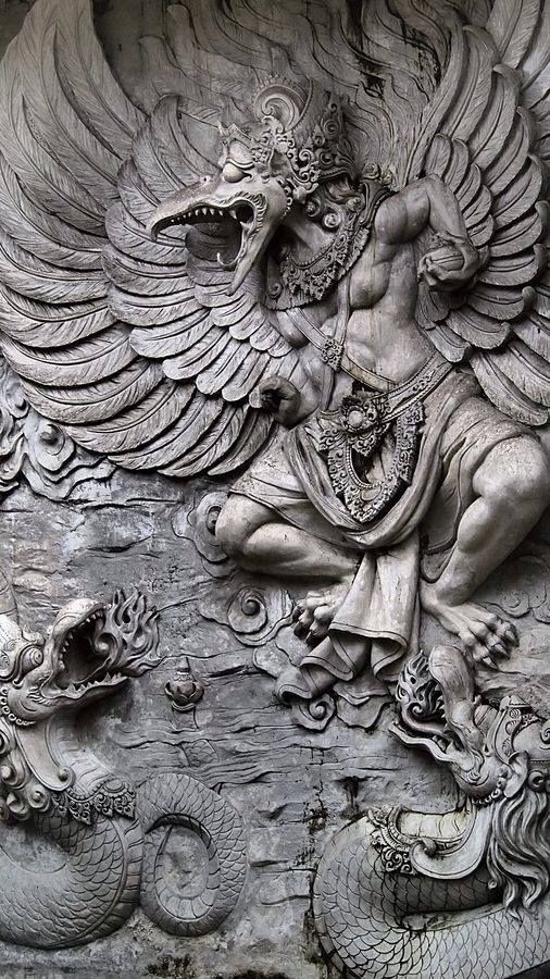 History of garuda bali indonesia weird monsters
