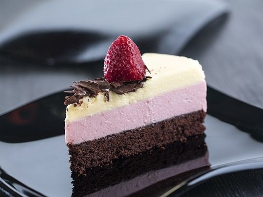 Бон Апети Трицветна торта