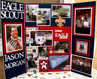 K. E. Morgan Designs: Jason's Eagle Court of Honor