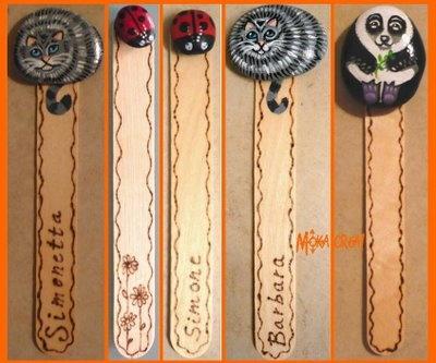 Moka crea!: Segnalibri-sasso