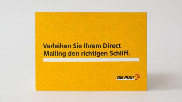 """Der Kunde will einem Mailing den richtigen Schliff verleihen. Ziel war es, den Unterschied zu einem """"normalen"""" Mailing zu spüren.  Dazu bediente sich der Kunde zweier Materialien: Vorderseite Schleifpapier im Siebdruck einseitig 4-farbig bedruckt Rückseite Karte mit Mehrfachpersonalisierung im Digitaldruck 4-farbig bedruckt Konfektionierung beide Teile zusammenkaschieren, stanzen und Postaufgabe Passend zu diesem Thema Mailing …"""